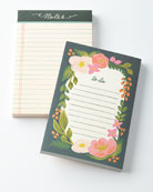 Rosalie and Rose Lined Notepads, Set of 2