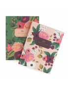 Vintage Blossoms Notebooks, Set of 2