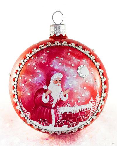 Christmas Night Grande Orb Ornament