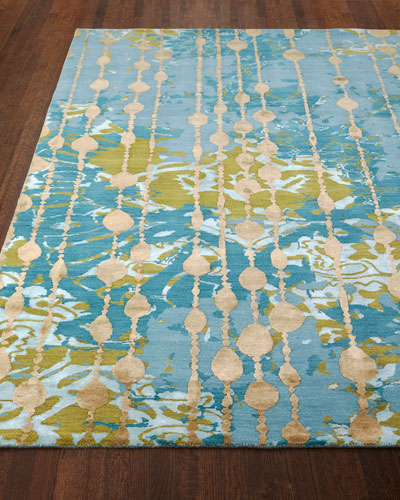 Butterfly Dream Hand-Knotted Rug, 8' x 10'