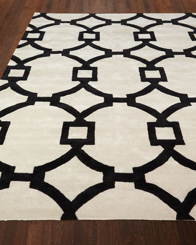 Trolley Hand-Tufted Rug, 8' x 11'