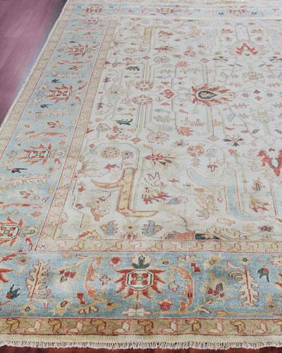 Haylane Oushak Hand-Knotted Rug, 12' x 15'