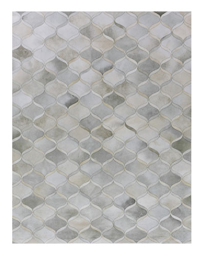 Elling Hairhide Hand-Stitched Rug, 5' x 8'