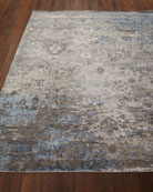 Mayley Vintage Hand-Knotted Rug, 6' x 9' and