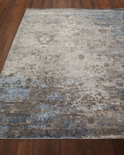 Mayley Vintage Hand-Knotted Rug, 6' x 9'
