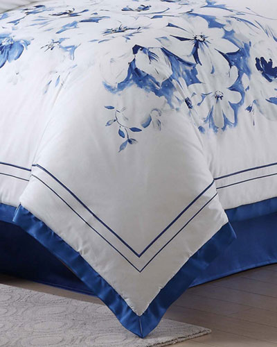 Alfresco Floral Queen Comforter Set