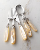 French Shine 20-Piece Flatware Service, Champagne