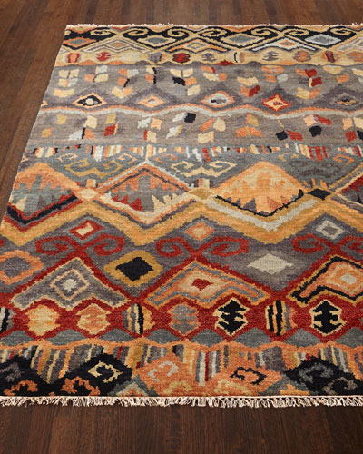 Noam Earth Hand-Knotted Runner, 2'6