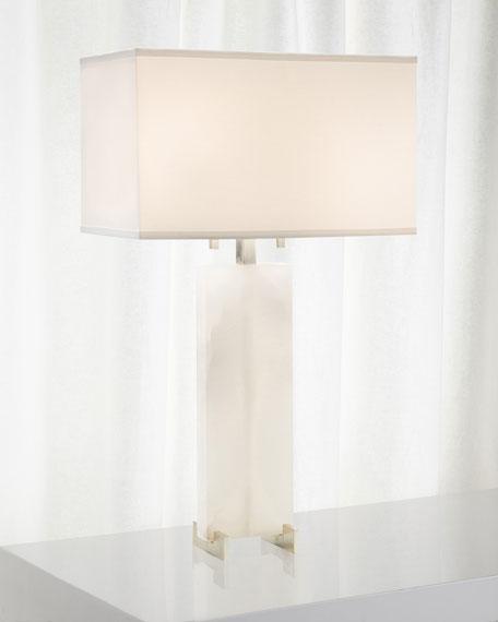 John-Richard Collection Alabaster Table Lamp
