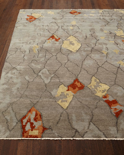 Abda Hand-Knotted Rug, 10' x 14'