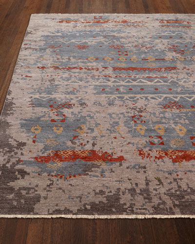 Daisa Clay Hand-Knotted Rug, 4' x 6'