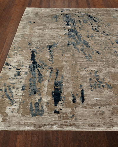Lhasa Sandstorm Hand-Knotted Rug, 9' x 12'