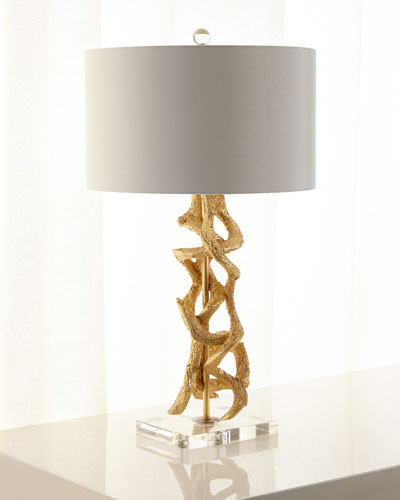 Golden Vine Table Lamp