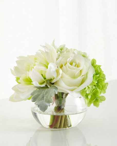John-Richard Collection Natures Green Floral Arrangement