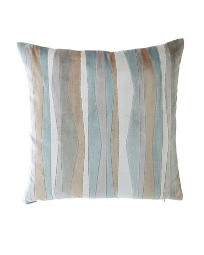 Layers Striped Pillow
