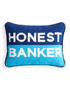 Honest Banker Personality Pillow