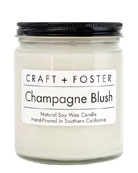 Champagne Blush Scented Candle, 8 oz./226g