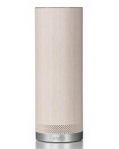 Stelle Audio Audio Pillar Speaker with Amazon Alexa, Ash
