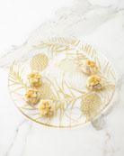 Glass Christmas Platter