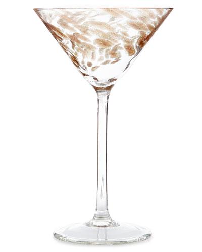 Misty Martini Glasses, Set of 4