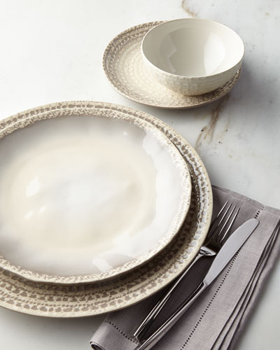 Sintra 16-Piece Dinnerware Service, Taupe