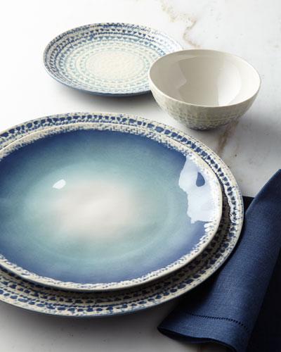Sintra 16-Piece Dinnerware Service, Blue