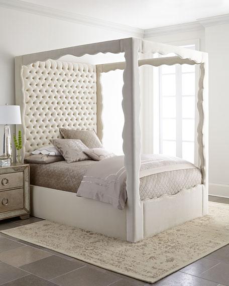 Haute House Empress Queen Canopy Bed