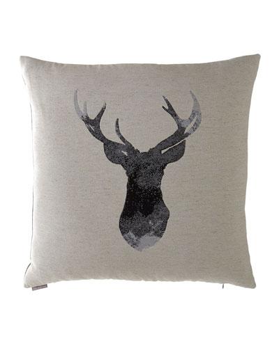 Buckhead Flax Pillow. 24