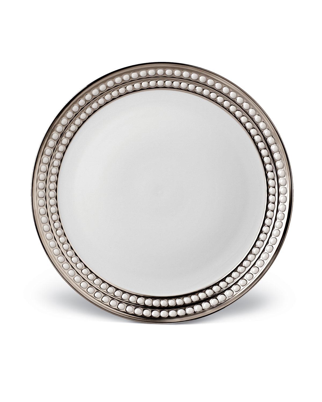 L'objet PERLEE PLATINUM DINNER PLATE
