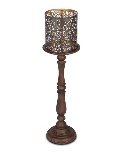6ee57afb46c02 Quick Look. G G Collection · Wooden Candle Holder ...