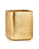 Labrazel Ava Wastebasket, Gold