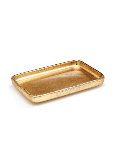 Ava Amenity Tray, Gold