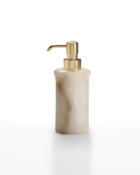 Labrazel Alisa Alabaster Pump Dispenser, Cream