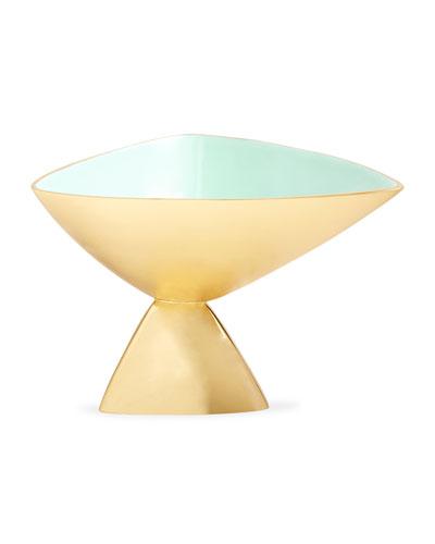 Cantilever Enamel Bowl, Large
