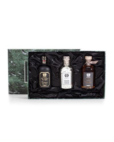 Antica Farmacista Trio (Silver Cedar, Champagne, and Sandalwood Amber), 3.4 oz./ 100 mL
