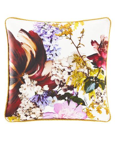 Floris Silk Pillow, 16