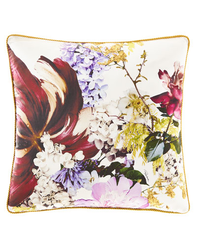 Floris Silk Pillow, 23