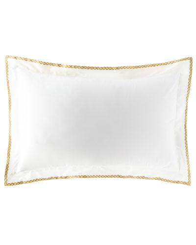 New Gold King Sham, Set of Two