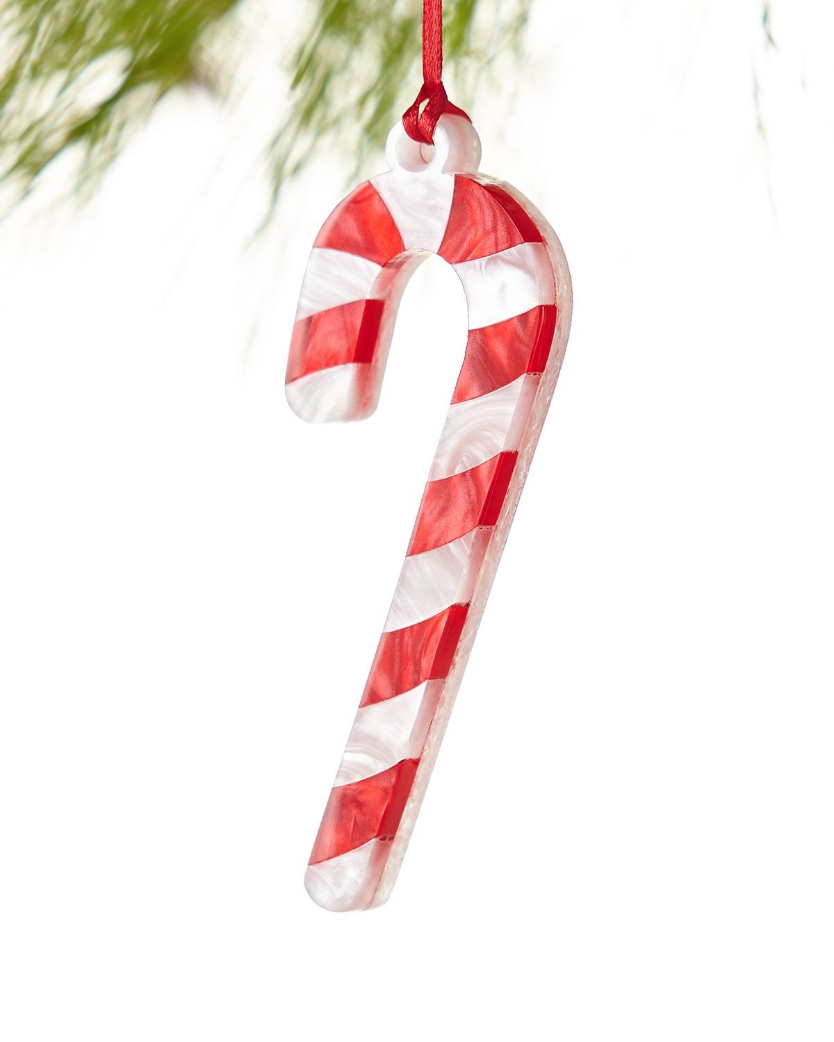 Candy Cane Christmas Ornament