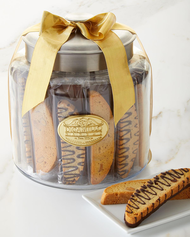 Holiday Biscotti Moderno Jar