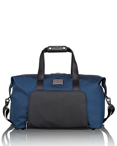 Alpha Ballistic Double Expansion Travel Satchel