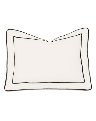 Midnight Poppy Decorative Pillow