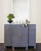 Salome Marble-Top Bath Vanity