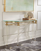 Martha Acrylic Console Table