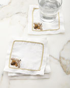 Sparkle Bee Cocktail Napkins, Set of 4