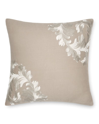 Acanthus Leaves Decorative Pillow, 18