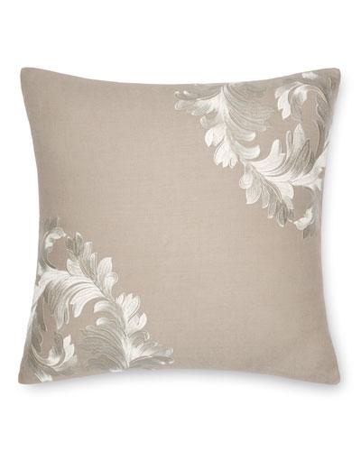 Acanthus Leaves Decorative Pillow, 18