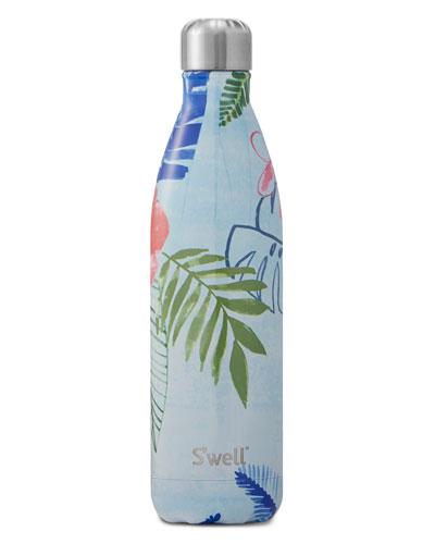 Oahu Tropical-Print 25-oz. Water Bottle