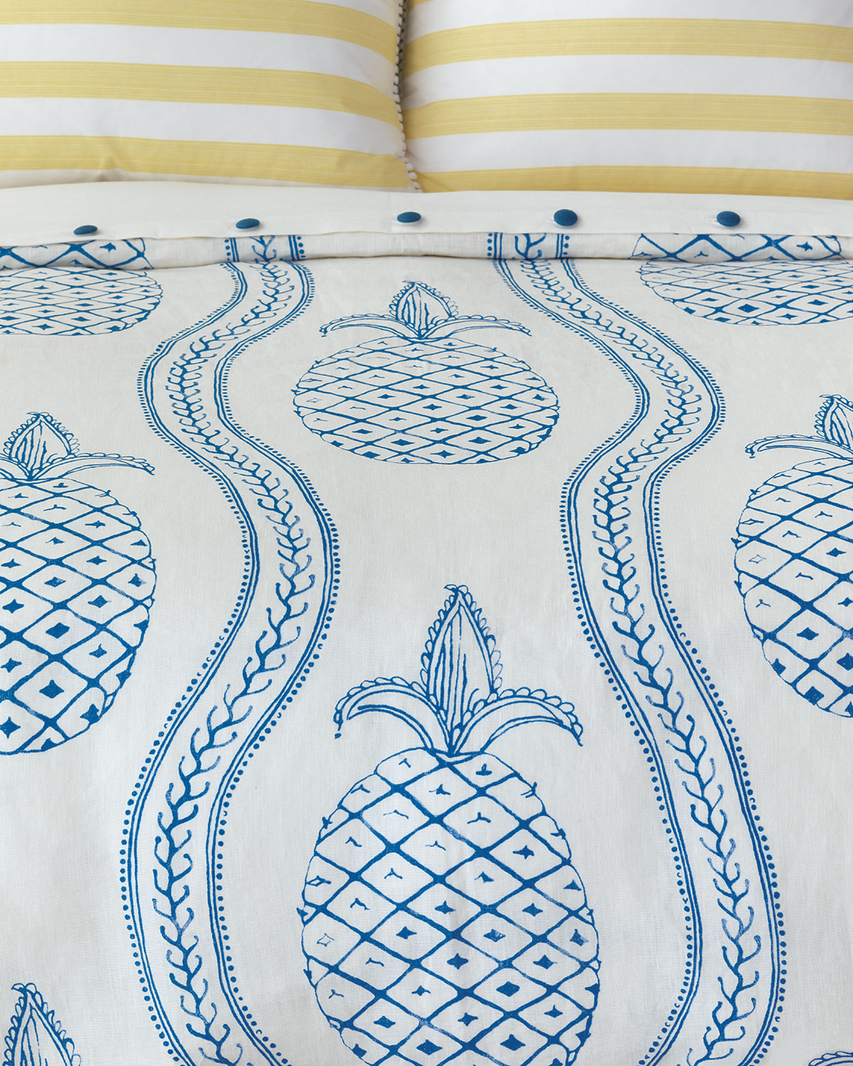 Pineapple Bobble Queen Duvet