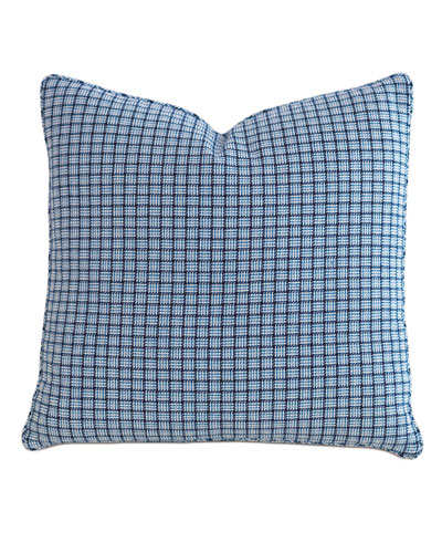 Watermill Indigo Decorative Pillow, 22
